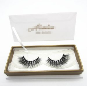 3D Mink Eyelashes With Customized Package